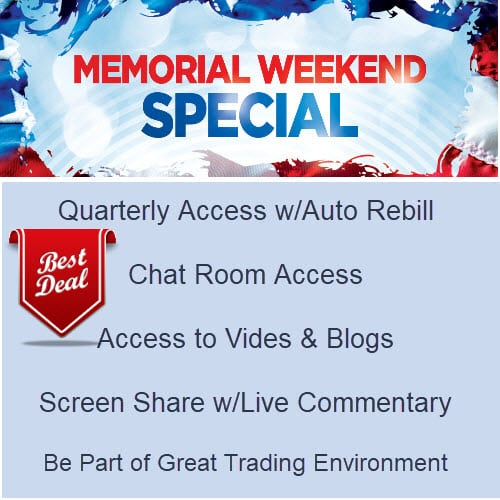 Quarterly Chat Access Memorial Day Special